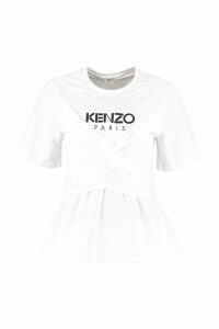 Kenzo Crew-neck Cotton T-shirt
