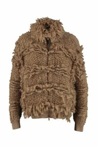 Brunello Cucinelli Wool Sweater With Zip