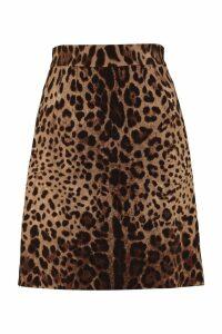 Dolce & Gabbana Printed Skirt