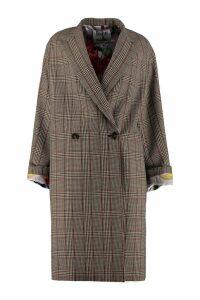 Stella McCartney Double-breasted Wool Coat