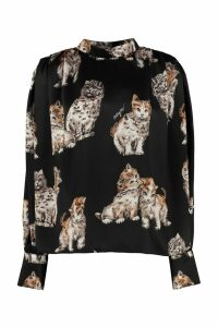 MSGM Printed Blouse