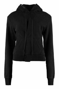 RED Valentino Foulard Collar Silk Blouse