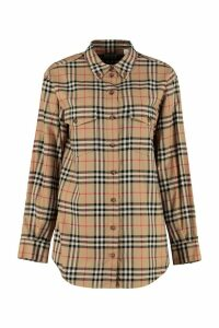 Burberry Vintage Check Pattern Cotton Shirt
