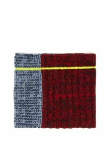 Colville - Panelled Knitted-wool Snood - Womens - Multi
