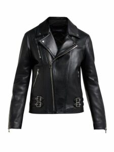 Joseph - Leather Biker Jacket - Womens - Black