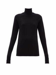 Haider Ackermann - Roll Neck Wool Sweater - Womens - Black