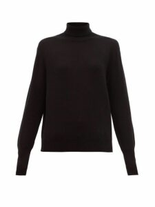 Nili Lotan - Ralphie Roll Neck Cashmere Sweater - Womens - Black