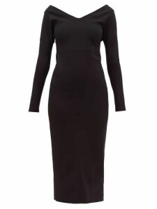 A.w.a.k.e. Mode - Non Monroe Off The Shoulder Cady Dress - Womens - Black