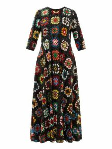Ashish - Bias Cut Sequinned Dress - Womens - Multi