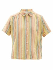 Ace & Jig - Winnie Short-sleeved Cotton Shirt - Womens - Multi