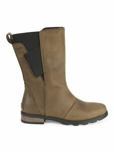 Emelie Waterproof Leather Mid-Calf Boots
