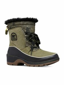 Tivoli III Camo Waterproof Suede Faux-Fur Winter Boots