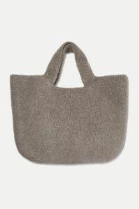 Lauren Manoogian - Oval Cotton, Alpaca And Wool-blend Tote - Gray