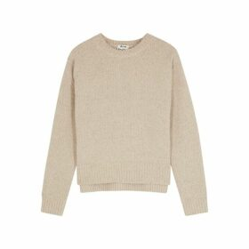 Acne Studios Oatmeal Wool-blend Jumper
