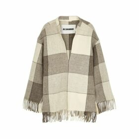 Jil Sander Lyra Checked Wool Jumper