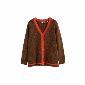 Chinti & Parker Brown Dalloway Love Merino Wool Cardigan