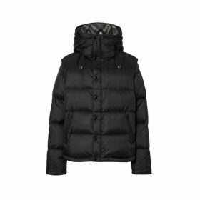 Burberry Detachable Sleeve Hooded Puffer Jacket