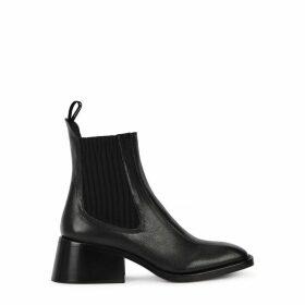 Chloé Bea 50 Black Leather Chelsea Boots