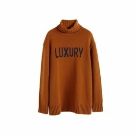 Chinti & Parker Ginger Luxury Cashmere Rollneck Sweater