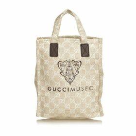 Gucci Brown Guccissima Museo Tote Bag