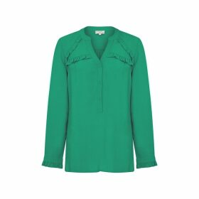 NOOKI DESIGN - Elodie Blouse Green