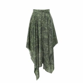 Hayley Menzies - Sweetheart Sage Frill Blouse