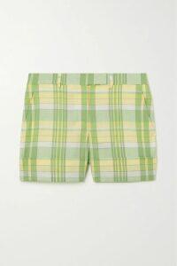 Caroline Constas - Mya Asymmetric Floral-print Silk-chiffon Top - Burgundy