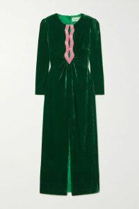 Sonia Rykiel - Leopard-jacquard Wool-blend Sweater - Leopard print