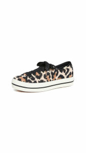 Keds x Kate Spade Triple Kick Leopard Sneakers