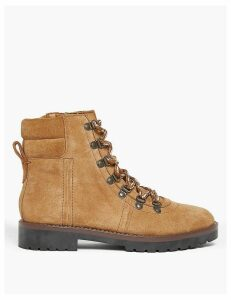 M&S Collection Suede Lace Up Hiker Ankle Boots