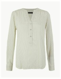 M&S Collection Striped Blouse