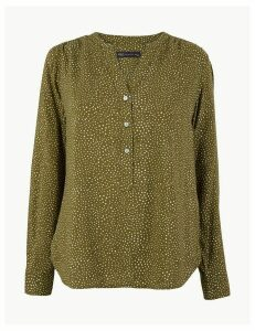 M&S Collection Polka Dot Blouse
