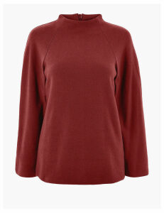 M&S Collection 3/4 Sleeve Sweatshirt