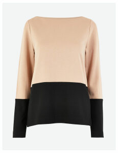 M&S Collection Colour Block Sweatshirt