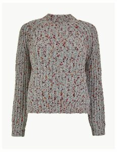 M&S Collection Chenille Pom-Pom Jumper