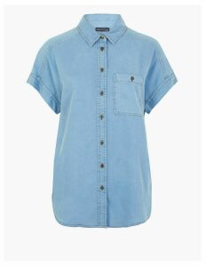 M&S Collection Button Detailed Shirt