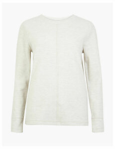M&S Collection Cotton Blend Sweatshirt