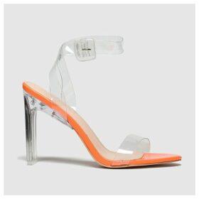 Public Desire Orange Slice High Heels