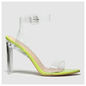 Public Desire Lime Slice High Heels
