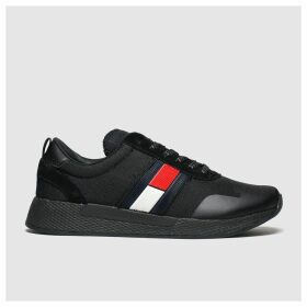 Tommy Hilfiger Black Tj Technical Pin Logo Sneaker Trainers