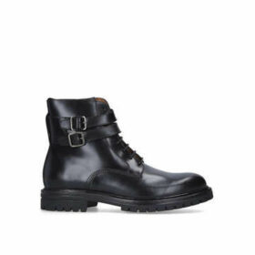 Kurt Geiger London Cade Biker Boot - Black Biker Boots