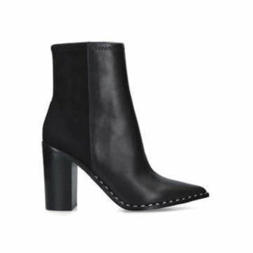 Aldo Loviren - Black Block Heel Pointed Toe Ankle Boots