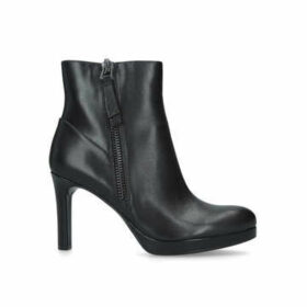Naturalizer Tiana - Black Stiletto Heel Ankle Boots