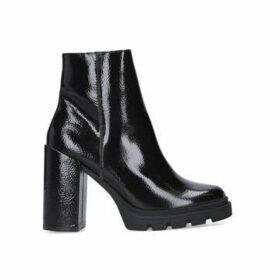 Steve Madden Vintage - Black Chunky Block Heel Ankle Boot
