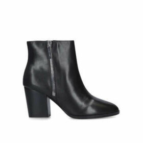 Nine West Niomi - Black Block Heel Ankle Boots