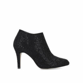 Carvela Serene Jewel - Black Embellished Ankle Boots