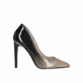 Miss Kg Cayleb - Metallic Stiletto Heel Court Shoes