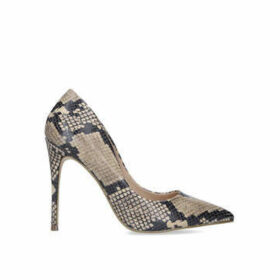 Steve Madden Daisie - Snake Print Stiletto Heel Court Shoes