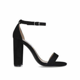 Steve Madden Carrson - Black Block Heel Strappy Sandals