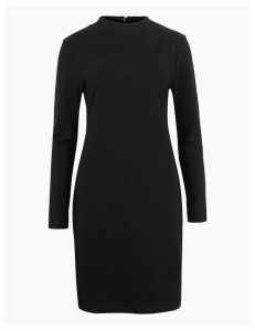 M&S Collection Long Sleeve Shift Dress